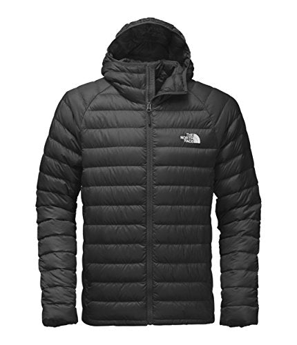 The North Face Water Repellent Trevail Men's Outdoor Down Jacket available in Tnf Black/Tnf Black - 2X-Large - Shoppersbase