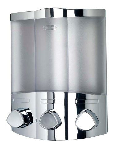 Croydex Euro Soap Dispenser Trio Chrome - Shoppersbase