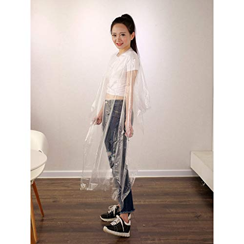 50/100/200Pcs Hairdressing Cape Waterproof Disposable Overalls Apron Transparent Salon Hair Cutting Gown Barber Cape Cloth Adult Kids Salon Hairdresser Hair Cutting Cape Gown Salon Cape - Shoppersbase