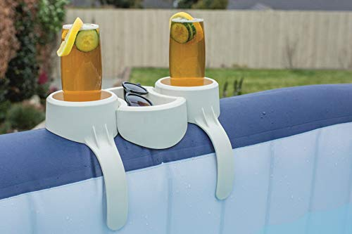 Lay-Z-Spa Hot Tub Drinks and Food Holder, Inflatable Spa Accessory - Shoppersbase