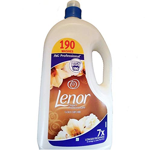 Lenor Super Concentrate Gold Orchid Fabric Conditioner 190 Washes 3.8L (1) - Shoppersbase