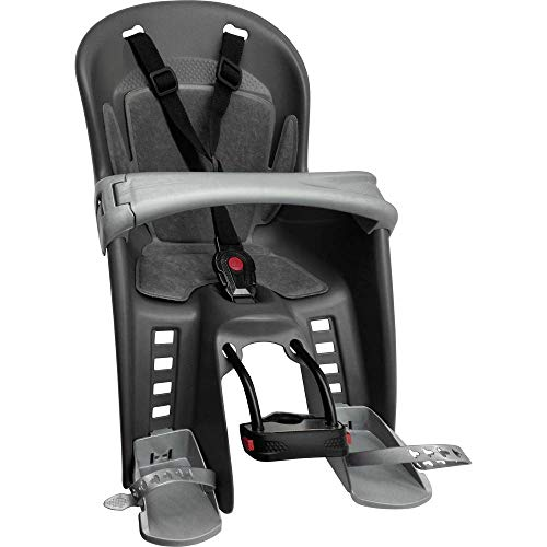 Polisport Men's Kids Bilby Seat Front-Multicoloured, Grey/Silver, one size - Shoppersbase