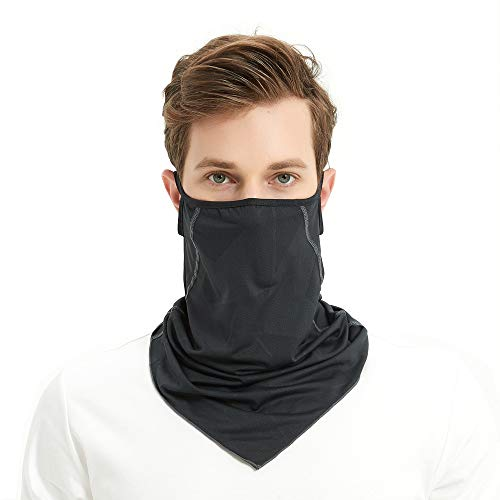 Balaclava for Man Women Unisex Bandana Face scarf UV Protection Dust/Wind-proof Breathable Face Scarf scarf Neck Gaiter - Shoppersbase