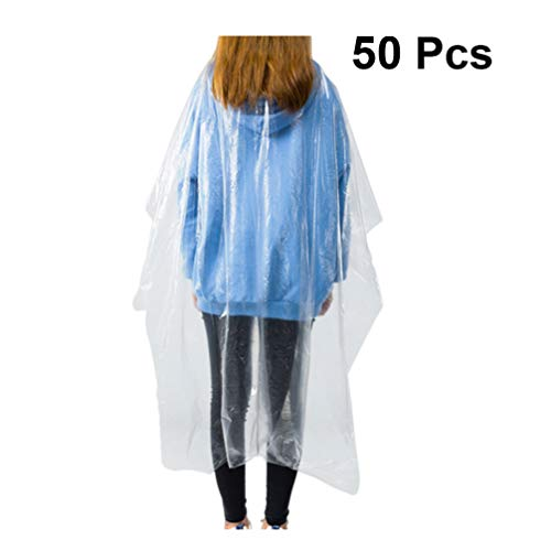 Beaupretty 50pcs Hair Cutting Apron Hair Salon Cape Protective Coveralls Gowns Disposable Medical Protection Overalls Chemical Capes Waterproof - Shoppersbase