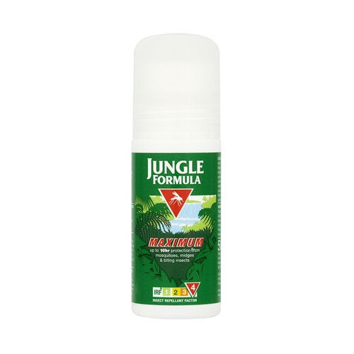 Jungle Formula Maximum Insect Repellent Roll On with DEET, 50 ml - Shoppersbase