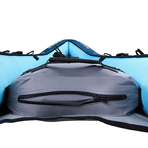 Blueborn Coasteer SRE240 Sit-On-Top Boat 1 person 240x88 cm canoe, kayak, inflatable boat, blue - Shoppersbase