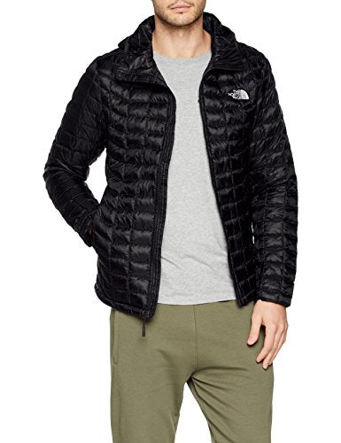 THE NORTH FACE Men's Thermoball Jacket, TNF Black, X-Large - Shoppersbase