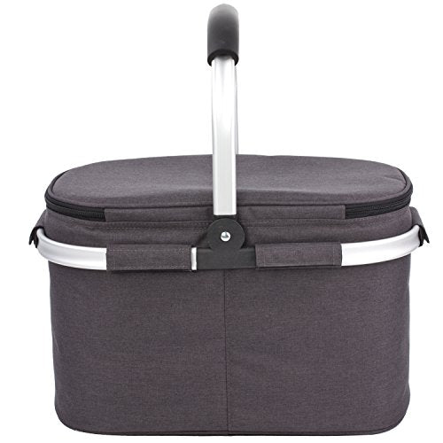 Eono by Amazon - 22L Picnic Basket,Insulated basket,cooler bag for outdoor - Shoppersbase