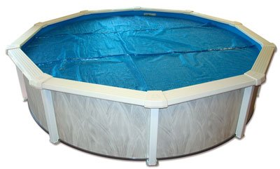 Swimming Pool Solar Cover 12ft Round - Shoppersbase