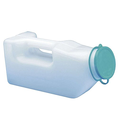NRS Healthcare G47469 Male Urinal Bottle (Eligible for VAT relief in the UK) - Shoppersbase