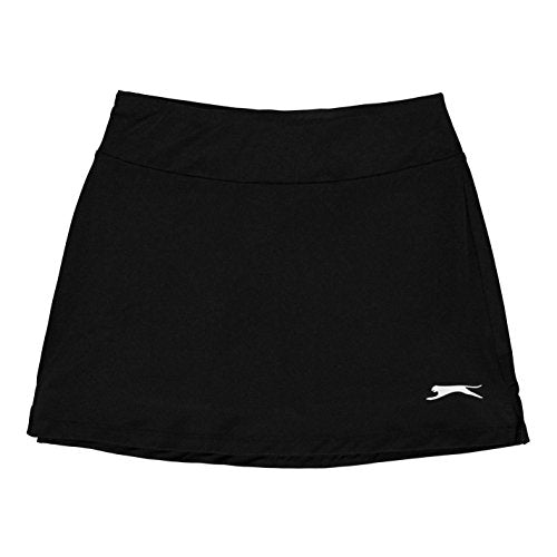 Slazenger Girls Court Skort Black 7-8 (SG) - Shoppersbase