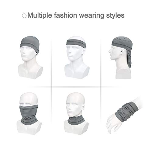 Sfee Cooling Neck Gaiters for Men UV Summer Sport Mask Breathable Balaclava Headwear UPF 50+ Dust Bandana Outdoors Face Cover Scarf Soft Headband Sweatband for Fishing, Hiking, Cycling, Yoga - Shoppersbase