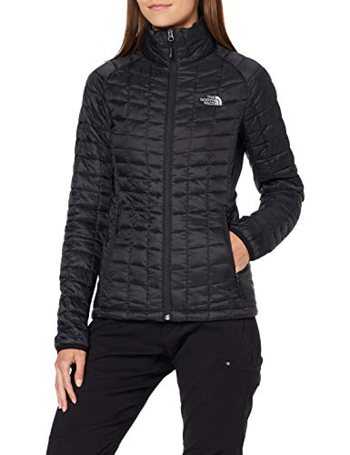 THE NORTH FACE Women's Thermoball Sport Jacket, TNF Blk/TNF Blk, S - Shoppersbase