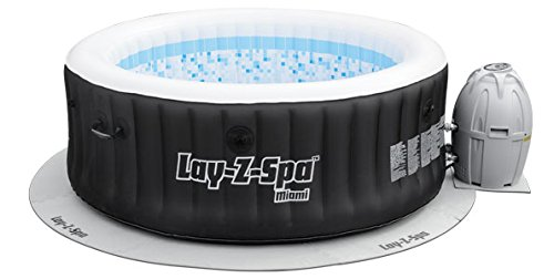 Lay-Z-Spa Hot Tub Floor Protector, 10 Piece Protective Pad Set for Spa and Pump (Fits All Models Except Maldives) - Shoppersbase