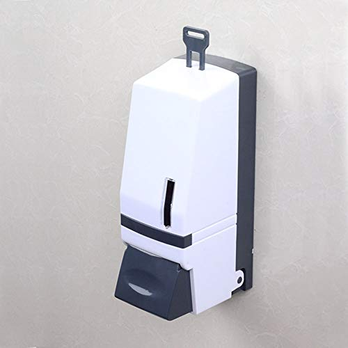 Liquid Soap Dispenser Wall-Mounted 500 Ml Plastic Large Capacity Toilet Bathroom Accessories Bathroom Home Hotel Hand Sanitizer - Shoppersbase
