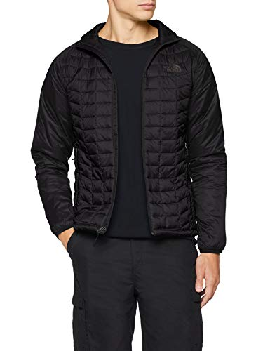 THE NORTH FACE Men's Thermoball Sport Jacket, TNF Blk/TNF Blk, XL - Shoppersbase