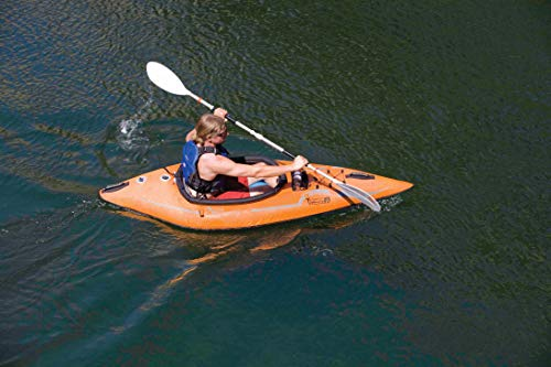 ADVANCED ELEMENTS Lagoon 1-Person Inflatable Kayak with Carry Bag and Repair Kit - Shoppersbase