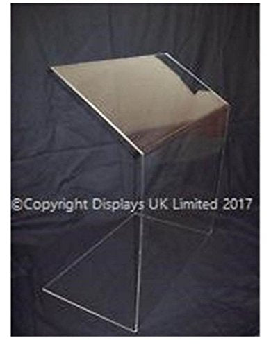 Displays UK Budget Clear Perspex Acrylic Sneeze Guard/Security Screen - Small - 500mm Wide - Shoppersbase