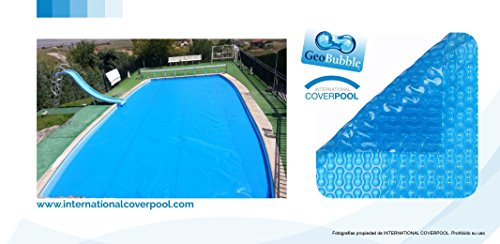 Solar Pool Cover for swimming pools Geo Bubble unreinforced max 3x2 meters thickness 400 microns - Shoppersbase