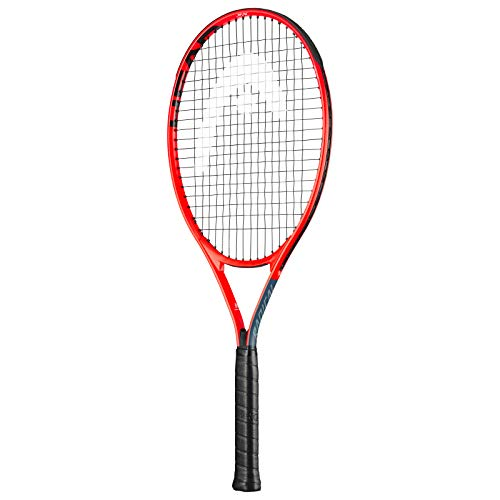 HEAD Kids' Radical Tennis Racket, Grey/Red, 23 Inch - Shoppersbase