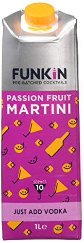 Funkin Passion Fruit Martini Cocktail Mixer, 1 Litre, Case of 6 - Shoppersbase