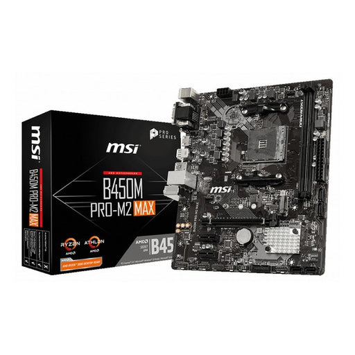 Motherboard MSI B450M PRO-M2 Max mATX DDR4 AM4 - Shoppersbase