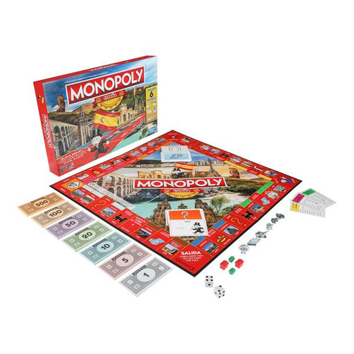 Spain Monopoly Hasbro - Shoppersbase