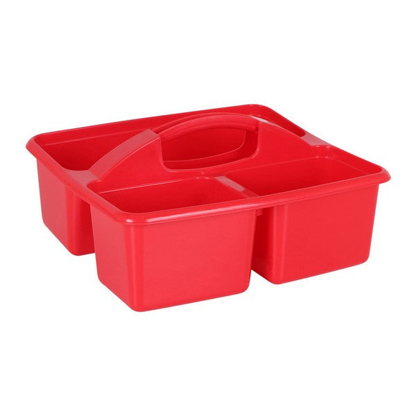 Multi-purpose basket Plastic Red