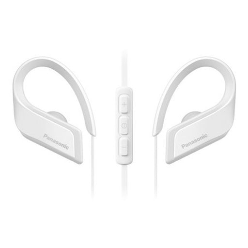 Bluetooth Headset with Microphone Panasonic RP-BTS35E-W White - Shoppersbase