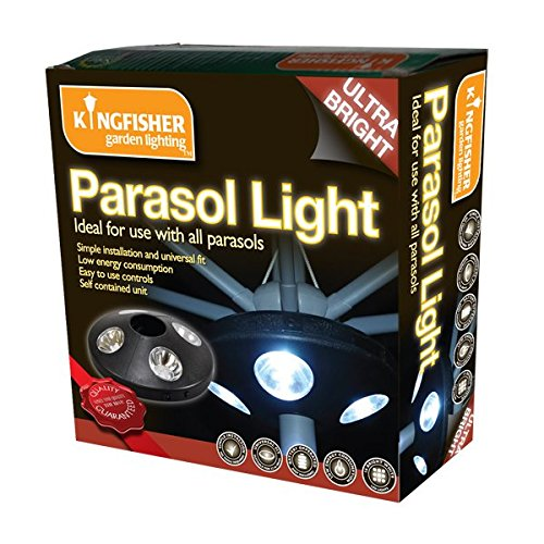 Kingfisher 16 LED Parasol Light - Shoppersbase
