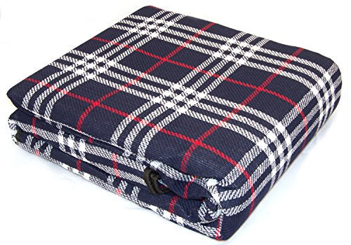 Andes XXL 300cm x 220cm Waterproof Backed Picnic Blanket / Rug For Travel, Outdoor, Camping - Shoppersbase