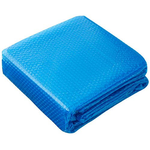 TecTake 800711 Swimming Pool Cover, Solar Foil Rectangular, Easily Cut-to-Size, Blue - different Sizes (1.6 x 2.6 m | 403101) - Shoppersbase