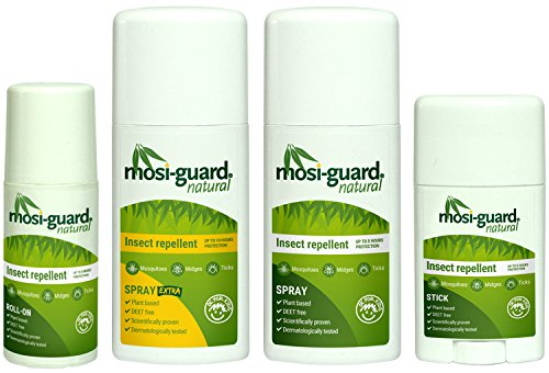 Mosi-Guard 40ml Natural Insect Repellent Stick | Deet Free | Aeroplane Cabin Bag Approved | Suitable for adults and children - Shoppersbase