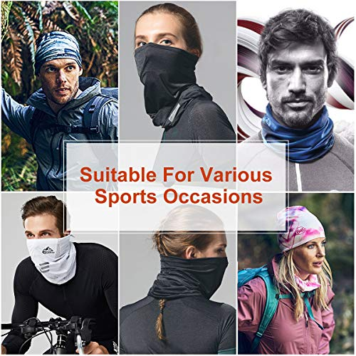 Multifunctional Headband- Seamless Scarf Light Weight Breathable Bandana Multi Use Headwear Neck Tube Scarf for Yoga Running Cycling - Shoppersbase