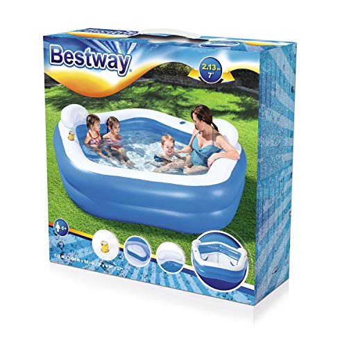 Bestway BW54153-20 HYDRO-SWIM Tauch-Set für Kinder Lil' Flapper, Größe: 24-27, sortiert Family Fun Lounge, Inflatable Pool for kids, Colour - Shoppersbase