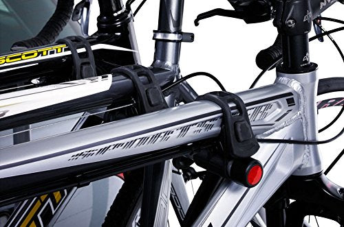 Thule 9708 Tow Bar Ball Mounted 4 Bike Cycle Carrier Rack Includes 957 Lock - Shoppersbase