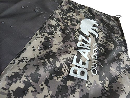 BEARZ Outdoor Picnic Blanket & Camping Mat - Sand Proof Beach Blanket, Camping Tarp, Outdoor Rug. Picnic Blankets with Waterproof Backing. Festival & Camping Accessories (Digital Camouflage) - Shoppersbase