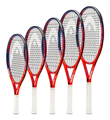 HEAD Kids' Radical Tennis Racket, Orange/Blue, 25 Inch (8-10 Years) - Shoppersbase
