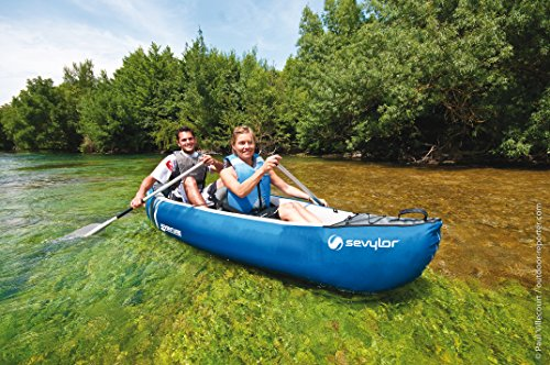 Sevylor Adventure Kit Inflatable Canoe - Shoppersbase