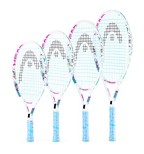 HEAD Kids' Maria Tennis Racket, White, 25-Inch (Age 8-10) - Shoppersbase