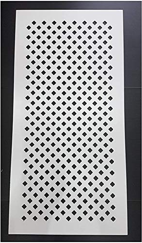MDF Radiator Cover Decorative Screening - Grille - Panels (4 x 2 Feet - 1215 x 610 mm) (Diamond) - Shoppersbase
