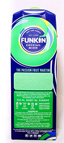 Funkin Passionfruit Martini Cocktail Mixer 1ltr - Tropical Cocktail Mix - Shoppersbase