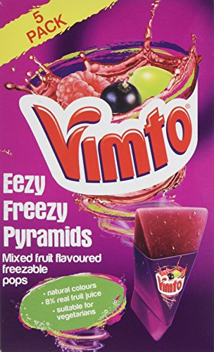 Vimto Eezy Freezzy Pyramids, Pack of 8, 5-Piece - Shoppersbase