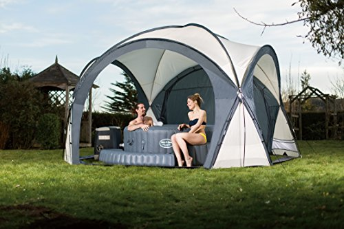 Lay-Z-Spa Hot Tub and Pool Gazebo Dome Enclosure - Shoppersbase