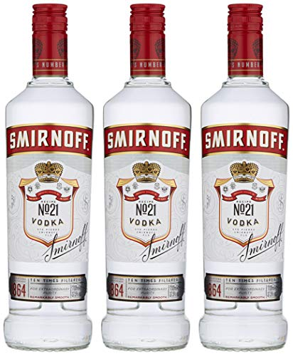 Smirnoff Red 70cl (Case of 3) - Shoppersbase