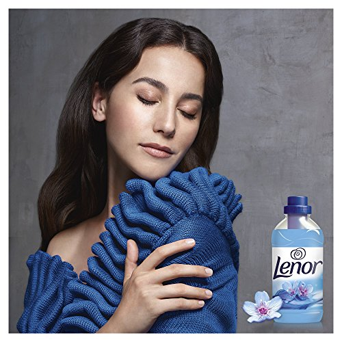 Lenor Fabric Conditioner Spring Awakening Scent, Anti-Ageing for Soft Clothes and Comfortable Feel, 3 Litre, 83 Washes, Pack of 4 - Shoppersbase