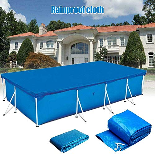 Starmood Rectangular Swimming UV-resistant Pool Cover Waterproof Dustproof Durable Covers - Shoppersbase