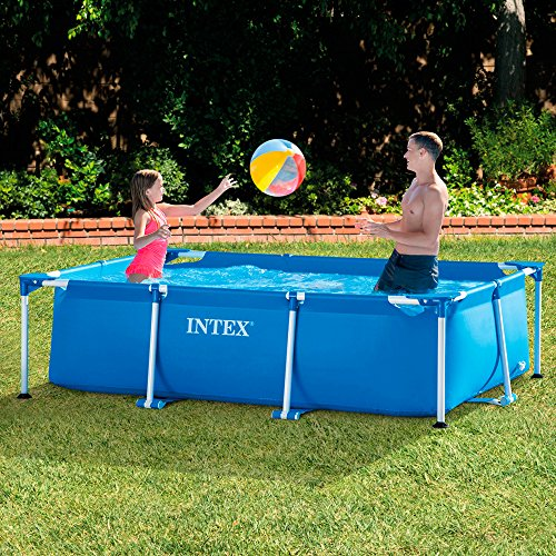 Intex 28270 Rectangular Pool, without Filter Pump, 220 x 150 x 60 cm - Shoppersbase
