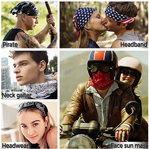 JOEYOUNG 3D Face Sun Mask, Neck Gaiter, Headwear, Magic Scarf, Balaclava, Bandana, Headband Fishing, Hunting, Yard Work, Running, Motorcycling, UV Protection, Great for Men & Women - Shoppersbase