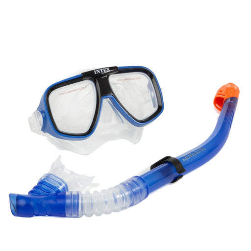 Snorkel Goggles and Tube for Children Intex - Shoppersbase